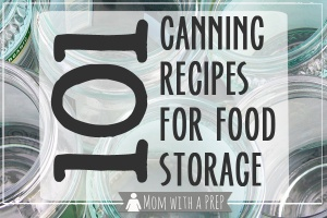 canning recipes 101