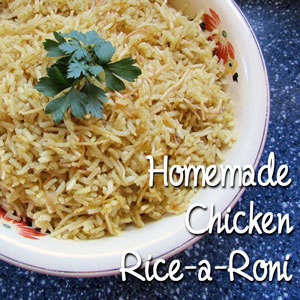 homemade rice a roni