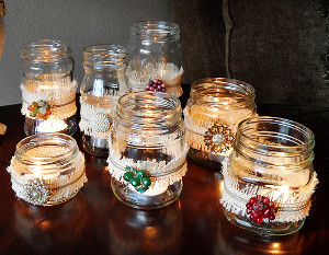 10 Mason Jar Crafts DIY Home Decor And Handmade Gifts In A