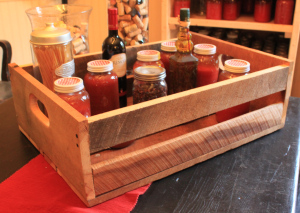 Home-made gift crates are always a hit!
