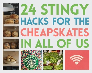 24 stingy hacks