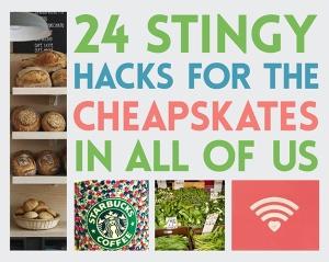 24 stingy hacks